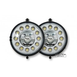 Day light homologué CEE, 12 LEDs pour Mini R56 / R55 / R57 de 2006 à  2010