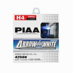 Lot de 2 ampoules PIAA Arrow Star White - H11 12V 55W a 110W